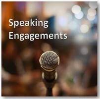 Keynote Speaker, Speaking Engagements, Vorträge halten